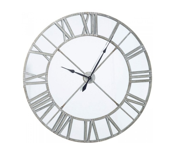 Kare Design - Zegar Ścienny Factory Mirror