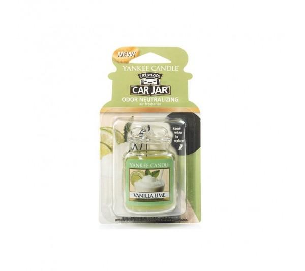 Yankee Candle - Car Jar® Ultimate Vanilla Lime