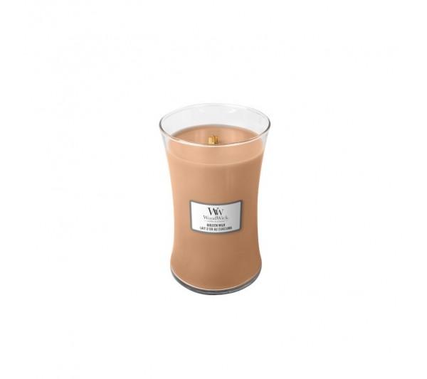 WoodWick Duża Świeca - Golden Milk