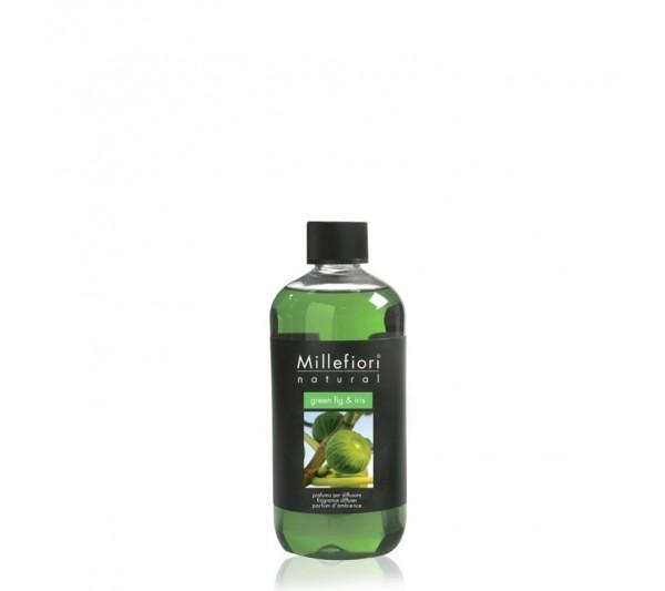 Millefiori Milano Uzupełniacz 250 ml - Green Fig & Iris