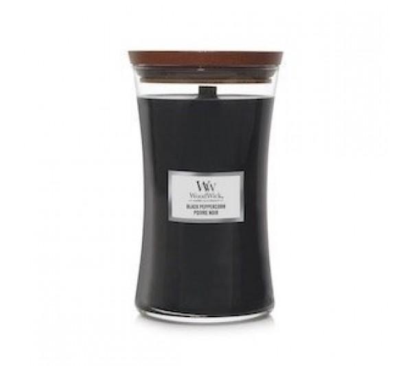 WoodWick Duża Świeca - Black Peppercon