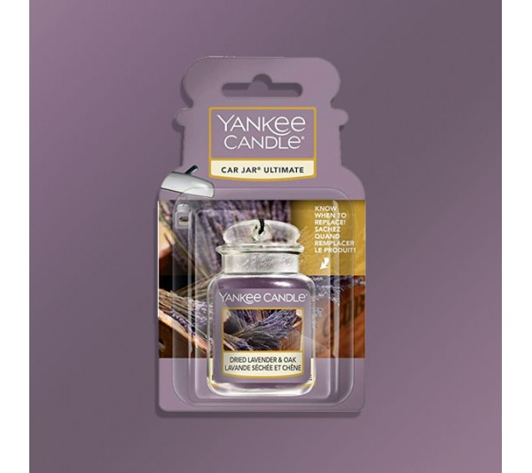 Yankee Candle - Car Jar® Ultimate DRIED LAVENDER & OAK