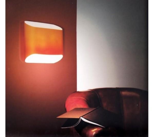 Azzardo - Lampa ścienna PANCAKE ORANGE
