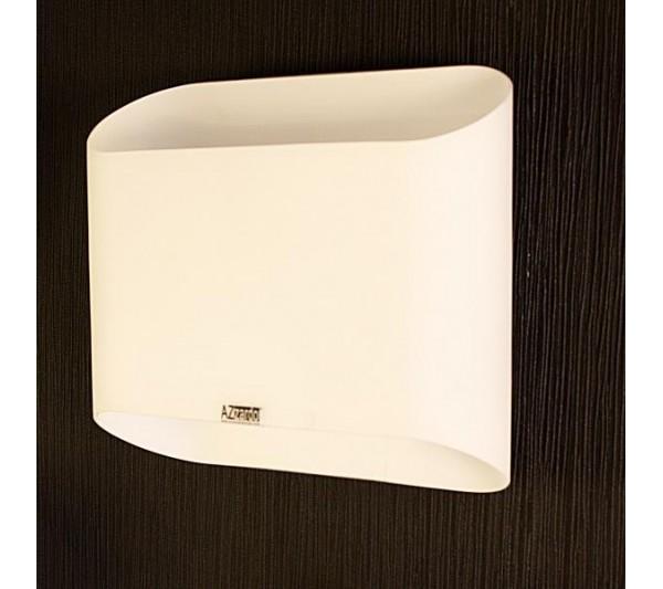Azzardo - Lampa ścienna PANCAKE WHITE