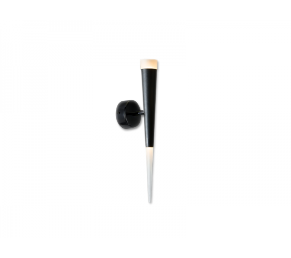 Azzardo - Lampa ścienna BRINA BLACK