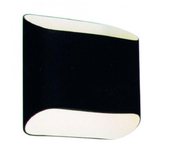 Azzardo - Lampa ścienna PANCAKE BLACK