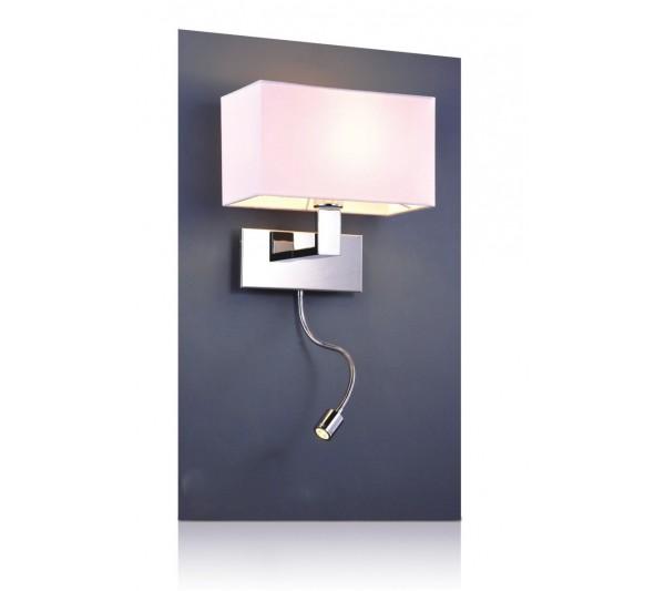 Azzardo - Lampa ścienna MARTENS WALL LED WHITE