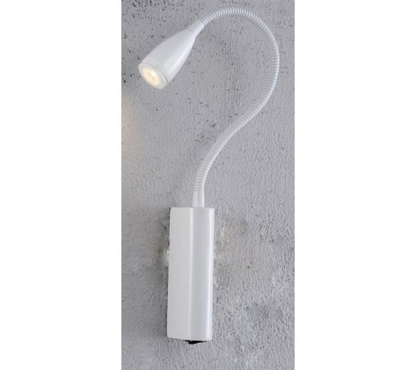 Azzardo - Lampa ścienna VERONICA WHITE