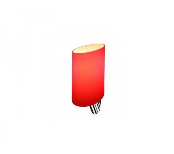Azzardo - Lampa ścienna ROSA RED