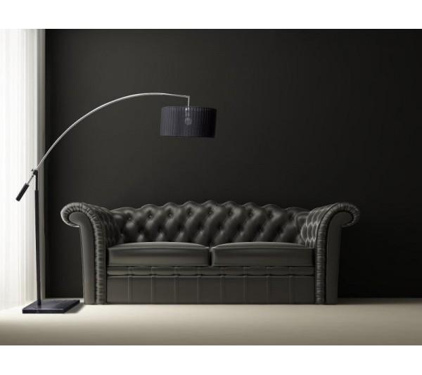 Azzardo - Lampa podłogowa BIANCA BLACK