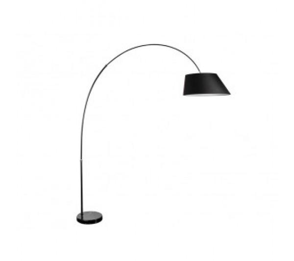 Azzardo - Lampa podłogowa BARD BLACK
