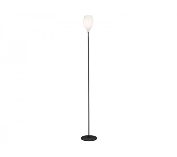 Azzardo - Lampa podłogowa IZZA WHITE
