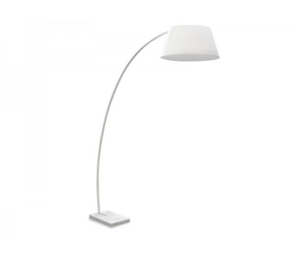 Azzardo - Lampa podłogowa OLAV WHITE