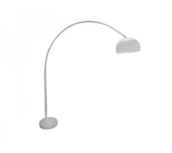 Azzardo - Lampa podłogowa TOGO WHITE