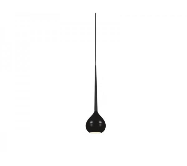 Azzardo - Lampa wisząca AGA 1 BLACK