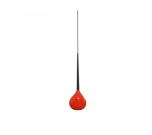 Azzardo - Lampa wisząca AGA 1 RED