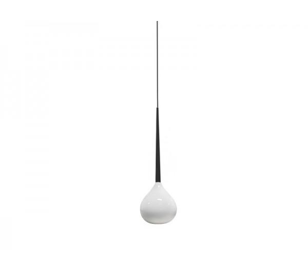 Azzardo - Lampa wisząca AGA 1 WHITE