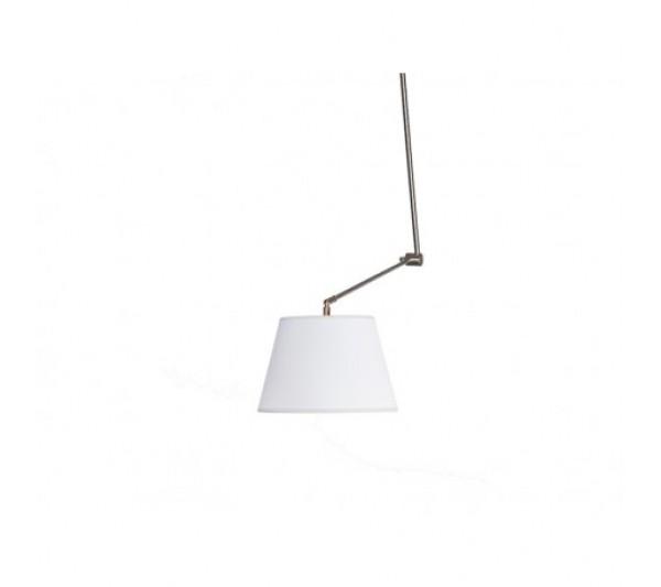 Azzardo - Lampa wisząca ADAM S WHITE PENDANT