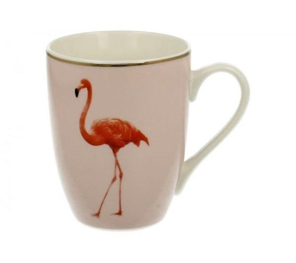 Domidea - Ozdobny kubek z flamingiem