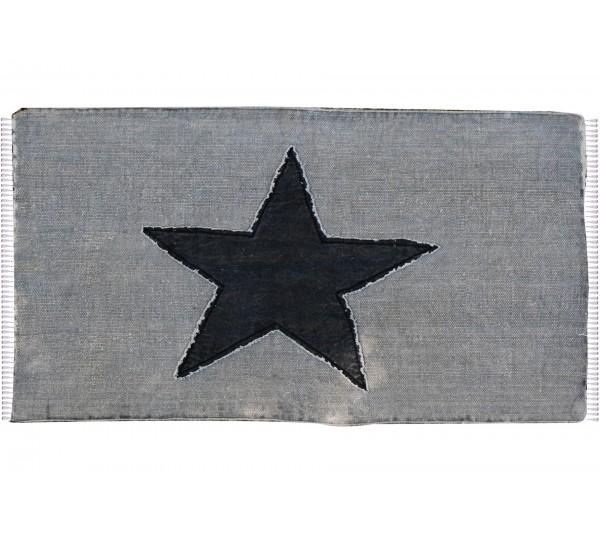 GREY - CHODNIK BAWEŁNIANY VINTAGE (SZARY) 55X85CM - STAR