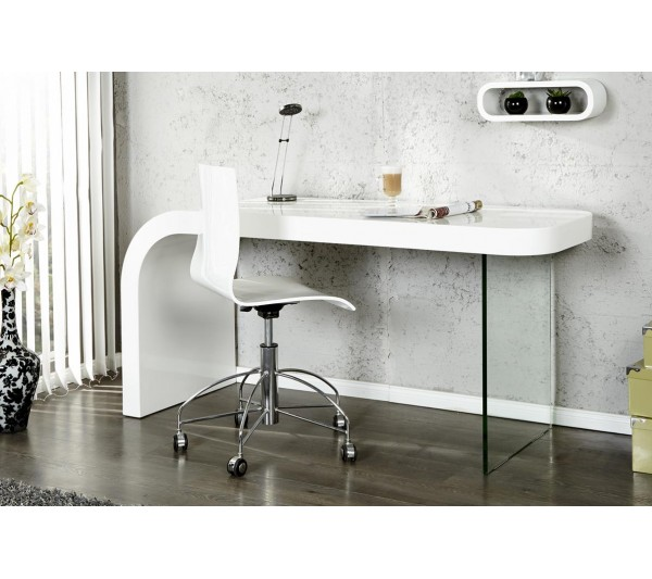 Invicta Interior - Biuro Onyx 140cm białe