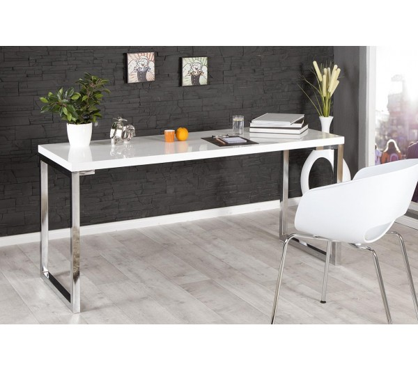 Invicta Interior - Biurko White Desk 160x60cm