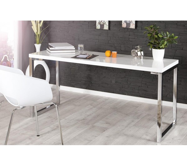 Invicta Interior - Biurko White Desk 140x60cm