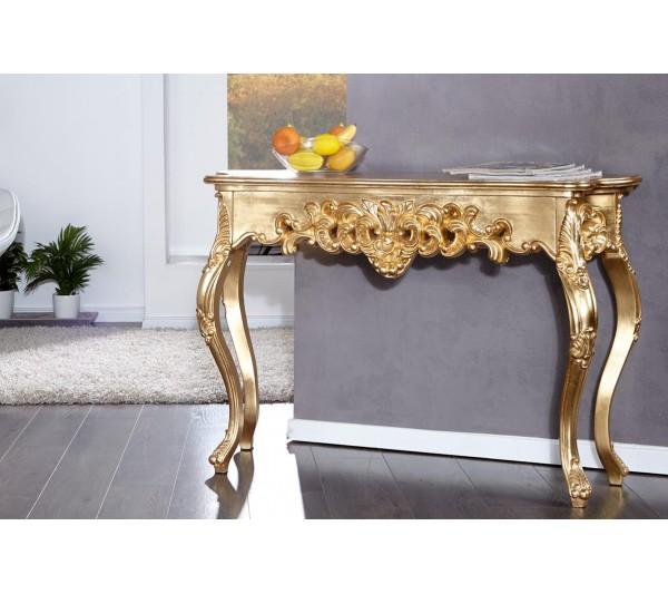 Invicta Interior - Konsola Wenecja złota 110cm