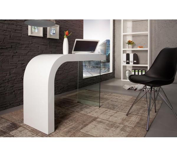 Invicta Interior - Biuro Onyx 120cm białe