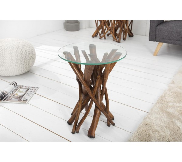 Invicta Interior - Stolik kawowy Driftwood 40cm