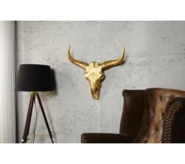 Invicta Interior - Dekoracja ścienna Matador złota