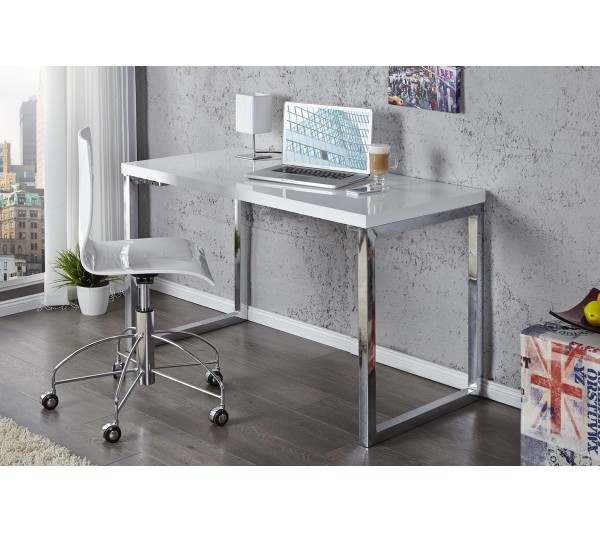 Invicta Interior - Biurko White Desk 120cm