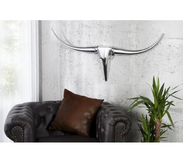 Invicta Interior - Dekoracja Ścienna Rogi Bull