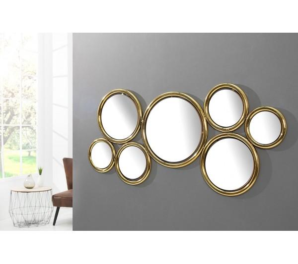 Invicta Interior - Lustro Dynamic złote 120cm