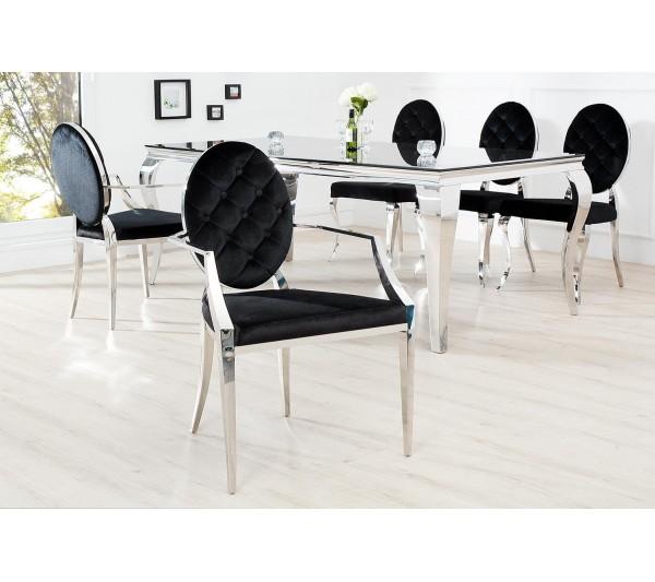 Invicta Interior - Krzesło Barock z podłokietnikami