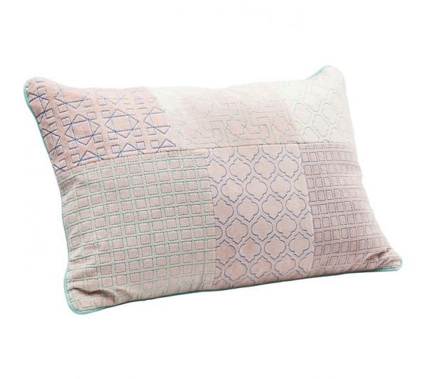 Kare design - Poduszka Patchwork  Pink 25x40cm