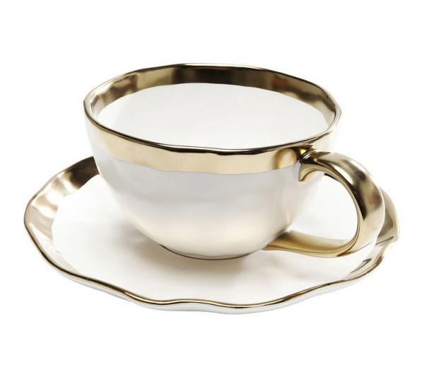 Kare design - Filiżanka do kawy złota