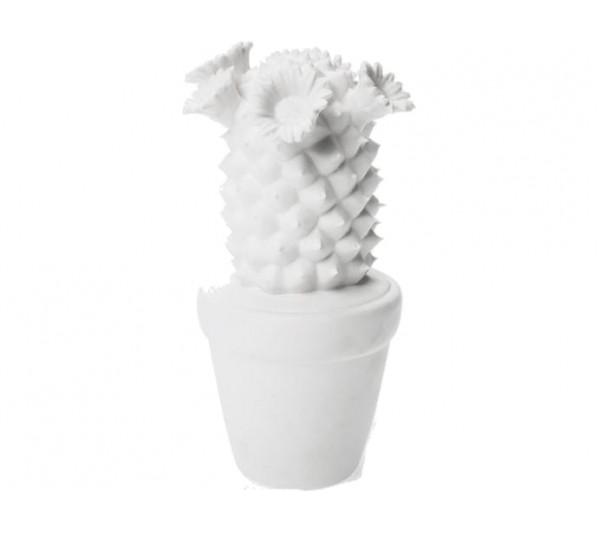 Kare design - Dekoracyjny Kaktus biały