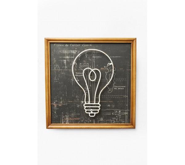 Kare design - Dekoracja Ścienna Study Bulb