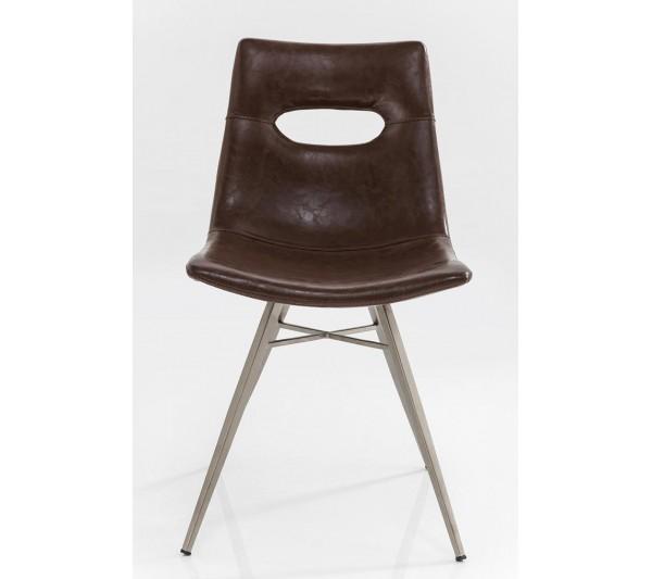 Kare design - Krzesło Wenecja Ciemny Brąz