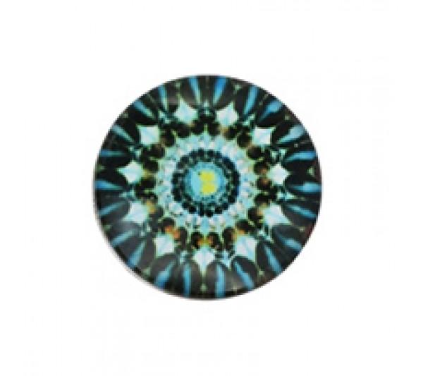 Crystal Blue-Napy ozdobne do bransoletek