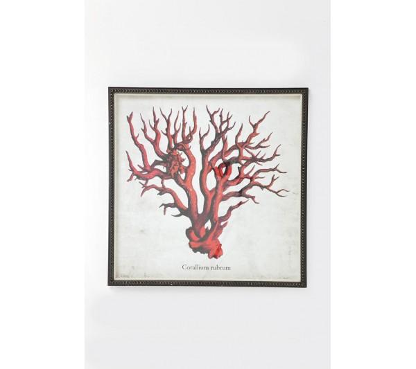 Kare design - Obraz  Coral Red 96x96cm