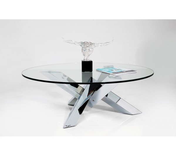 Kare design -  Stolik Kryształ Eco Ø100cm