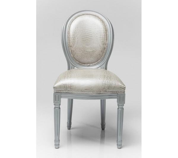 Kare design - Krzesło Louis Srebrne