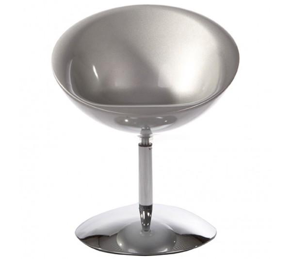 Kokoon Design - Fotel Bowl srebrny