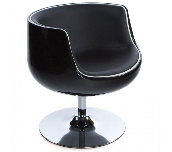 Kokoon Design - Fotel Harlow czarny