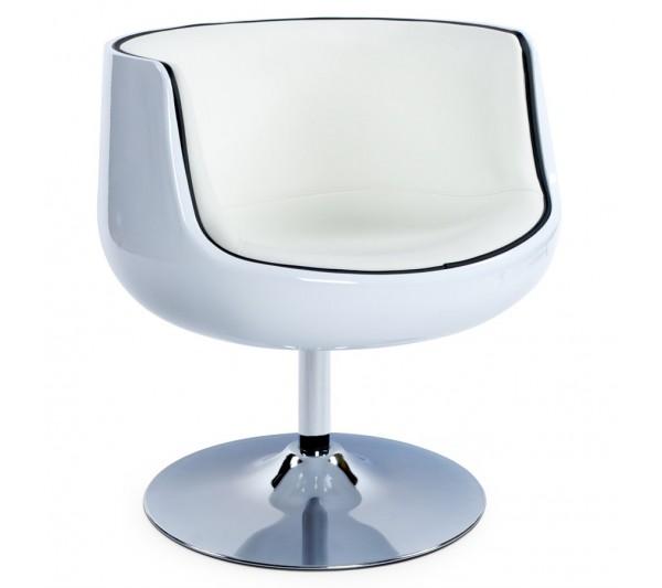 Kokoon Design - Fotel Harlow biały