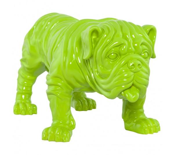 Kokoon Design - Figurka Bulldog zielona