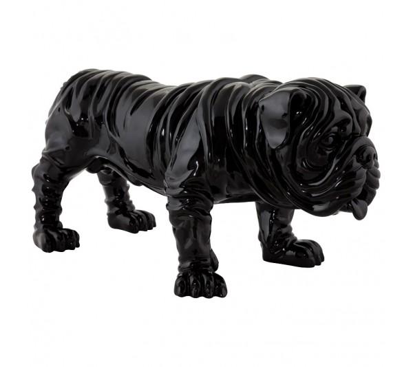 Kokoon Design - Figurka Bulldog czarna