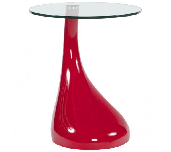 Kokoon Design - Stolik Tear czerwony